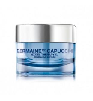 Germaine de Capuccini Excel Therapy O2 Continuous Defense Cream Veido kremas su deguonimi, 50ml | inbeauty.lt