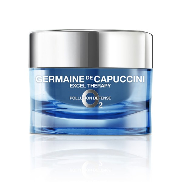 Excel Therapy O2 Pollution Defence Cream Veido kremas su deguonimi, 50ml