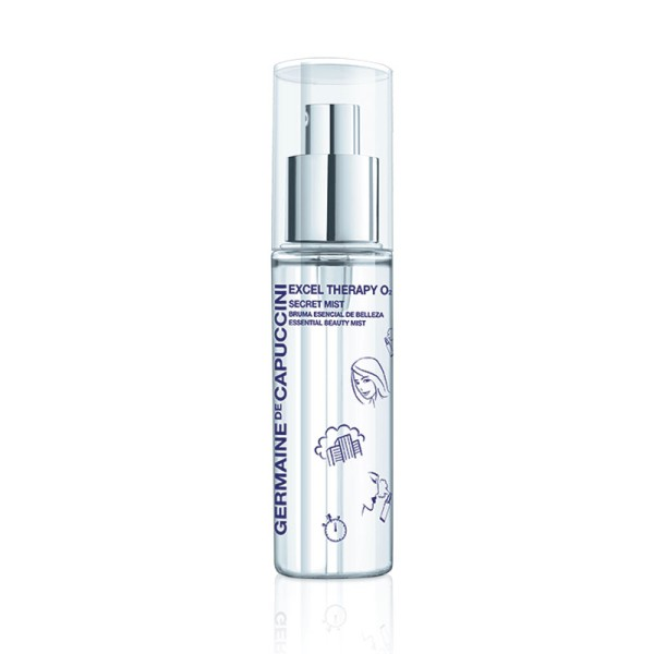 Excel Therapy O2 Secret Mist Gaivinanti veido migla, 30ml