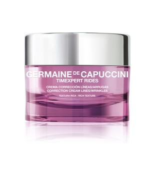 Germaine de Capuccini Timexpert Rides Rich Correction Cream Lines/Wrinkles Turtingos tekstūros kremas nuo raukšlių, 50ml   inbeauty.lt