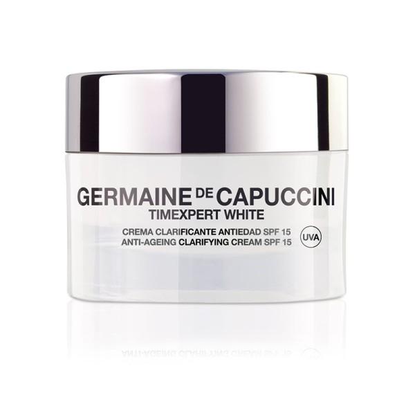 Timexpert White Anti Ageing Clarifying Cream SPF 15 Skaistinantis veido kremas, 50ml