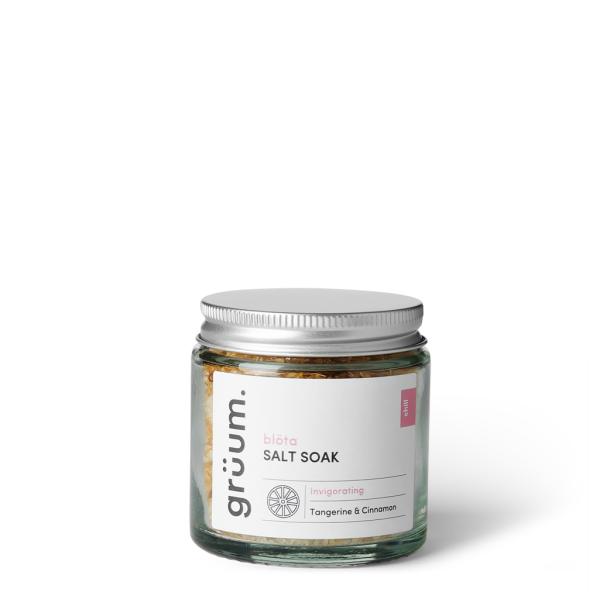 blöta Salt Soak Tangerine & Cinnamon Vonios druska, 120g