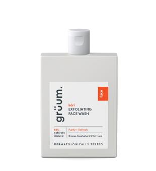 Grüum Kóri Exfoliating Face Wash Šveičiamasis veido prausiklis, 120ml | inbeauty.lt