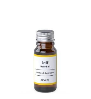 Grüum Leif Beard Oil Barzdos aliejus, 10ml | inbeauty.lt