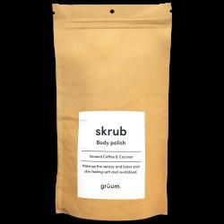 Skrub Body Polish Coffee & Coconut Kūno šveitiklis, 100g