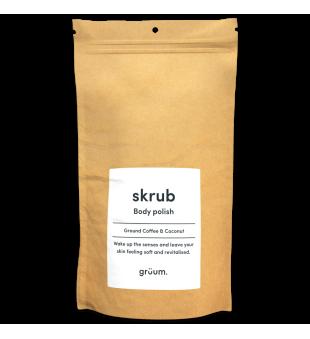 Grüum Skrub Body Polish Original Coffee Kūno šveitiklis, 100g | inbeauty.lt