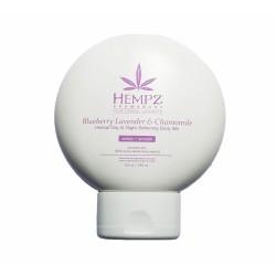 Blueberry Lavender & Chamomile Herbal Body Silk Drėkinamasis kremas veidui ir kūnui, 250ml