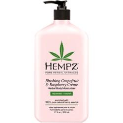 Blushing Grapefruit & Raspberrry Herbal Body Moisturizer Drėkinamasis kūno kremas, 500ml