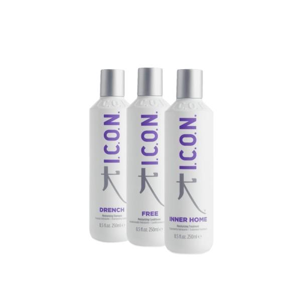 Hydration Kit Drėkinamasis plaukų priežiūros rinkinys, 1vnt