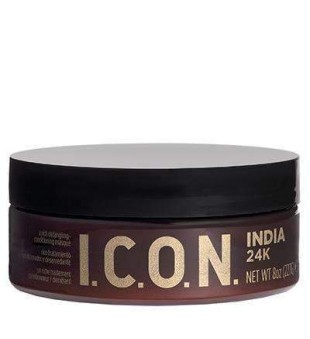 I.C.O.N. India 24K Mask Stipriai maitinanti plaukų kaukė, 230g | inbeauty.lt