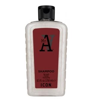 I.C.O.N. Mr. A Shampoo Šampūnas nuo plaukų slinkimo, 1000ml | inbeauty.lt