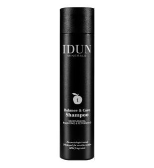 Idun Minerals Balance & Care Shampoo Balansuojantis šampūnas, 250ml   inbeauty.lt