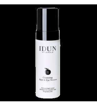Idun Minerals Skincare Cleansing Face & Eye Mousse Valomosios veido putos, 150ml | inbeauty.lt