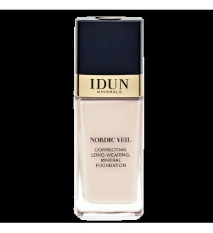 Idun Minerals Correcting Long-Wearing Mineral Foundation Stipriai maskuojantis skystas makiažo pagrindas, 26ml | inbeauty.lt