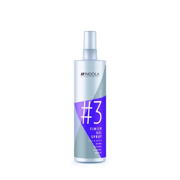 Finish Gel Spray Gelinis plaukų lakas, 300 ml