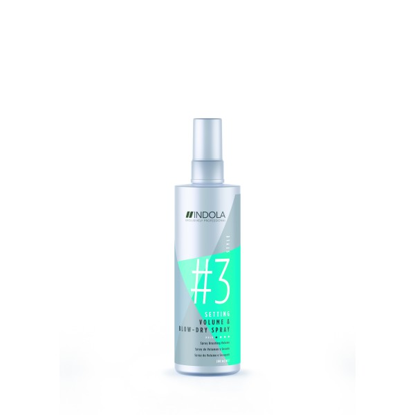 Setting Volume & Blow-Dry Spray Apimties suteikiantis ir džiovinimą pagreitinantis purškiklis, 200ml