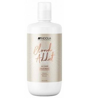 Indola Blond Addict Treatment Mask Saitus stiprinanti kaukė, 750ml | inbeauty.lt