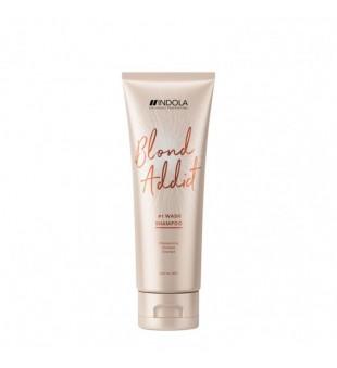 Indola Blond Addict Shampoo Saitus stiprinantis šampūnas, 250ml | inbeauty.lt