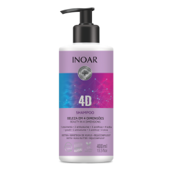 4D Shampoo Maitinamasis šampūnas, 400ml