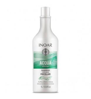 Inoar Aqua Micelar Shampoo Valomasis plaukų šampūnas, 1000ml | inbeauty.lt