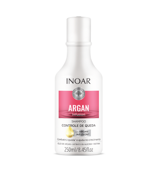Inoar Argan Infusion Loss Control Shampoo Šampūnas, stabdantis plaukų slinkimą, 250ml | inbeauty.lt