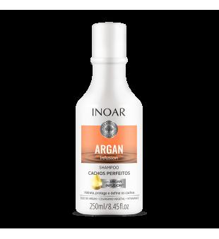 Inoar Argan Infusion Perfect Curls Shampoo Šampūnas garbanoms, 250ml | inbeauty.lt