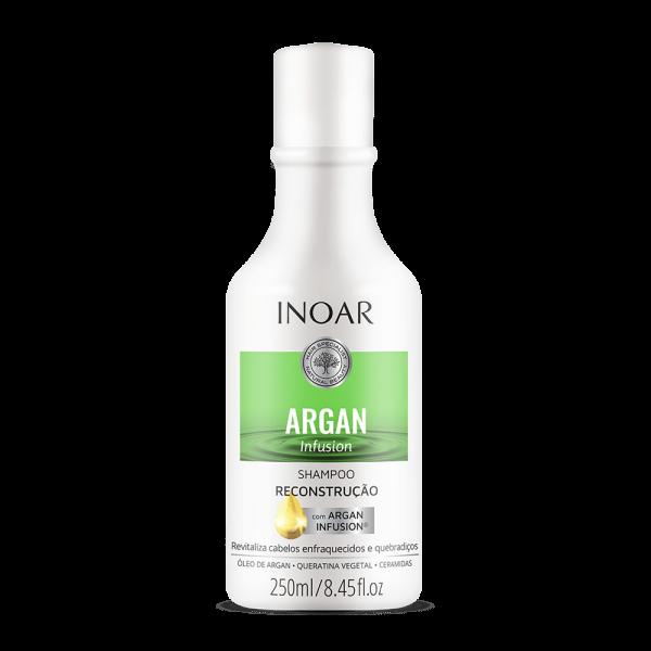 Argan Infusion Reconstruction Shampoo Atkuriamasis šampūnas, 250ml