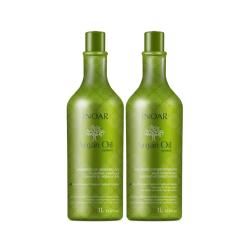 Argan Oil Duo Kit Sausų-pažeistų plaukų rinkinys, 2x1l