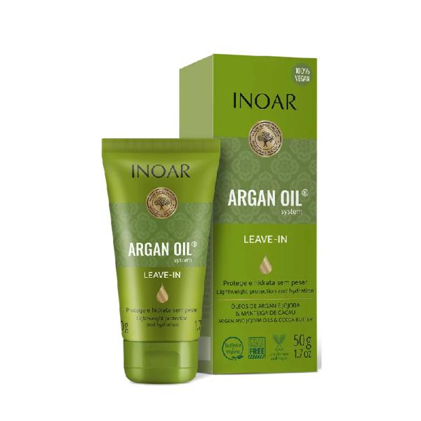 Argan Oil Leave-In Balm Nenuplaunamas balzamas su argano aliejumi, 50ml