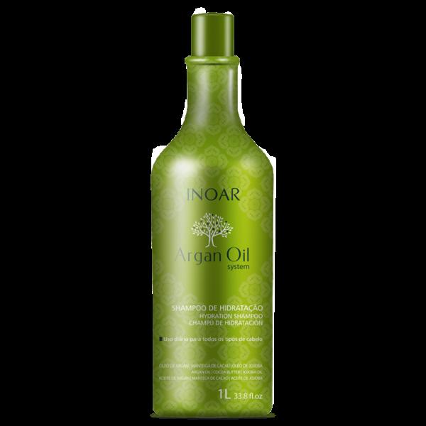 Argan Oil Sausų-pažeistų plaukų šampūnas, 1000ml