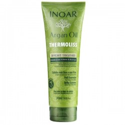 Besipučiančių/nepaklusnių plaukų kondicionierius su argano aliejumi Argan oil Thermoliss Conditionier, 240 ml