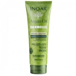 Besipučiančių/nepaklusnių plaukų šampūnas su argano aliejumi Argan oil Thermoliss Shampoo, 240 ml