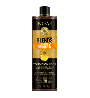 Inoar Blends Conditioner Kondicionerius su vitaminu C, 1000ml | inbeauty.lt