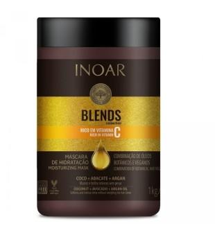 Inoar Blends Mask Plaukų kaukė su vitaminu C, 1000g | inbeauty.lt