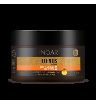 Inoar Blends Mask Plaukų kaukė su vitaminu C, 250g | inbeauty.lt