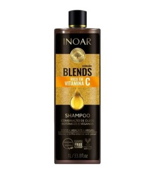 Blends Shampoo Šampūnas su vitaminu C, 1000ml