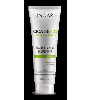 Inoar Cicatrifios Shampoo Plaukų struktūrą atkuriantis šampūnas, 240ml | inbeauty.lt