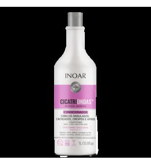 Inoar CicatriOndas Conditioner Kondicionierius garbanotiems plaukams, 1000ml | inbeauty.lt