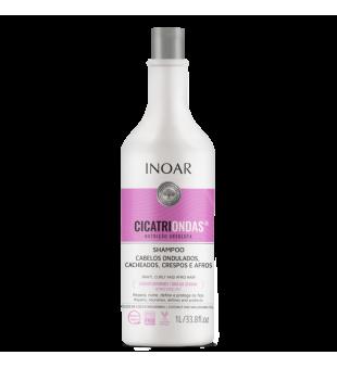 Inoar CicatriOndas Shampoo Šampūnas garbanotiems plaukams, 1000ml | inbeauty.lt