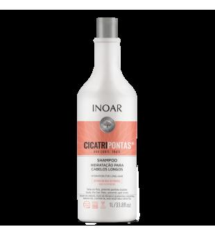Inoar CicatriPontas Shampoo Šampūnas ilgiems plaukams, 1000ml | inbeauty.lt