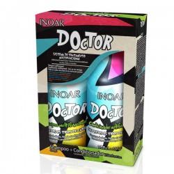 Daugiafunkcis atkuriamasis rinkinys plaukams - Doctor Duo Kit, 2x250 ml