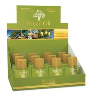 Inoar Argan Oil Argano aliejus plaukams, 12x7 ml | inbeauty.lt