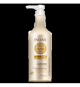 Inoar Absolut Daymoist Shampoo Atstatomasis-drėkinamasis šampūnas, 1000ml | inbeauty.lt