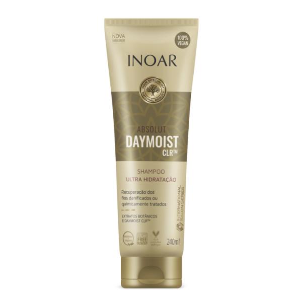 Absolut  Daymoist Shampoo Atstatomasis-drėkinamasis šampūnas, 240 ml