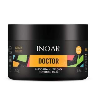 Inoar Doctor Nutrition Mask Maitinanti plaukų kaukė, 250g | inbeauty.lt