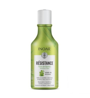Inoar Resistance Fibra de Bambu Leave-In Antifrizz Nenuplauanamas kondicionierius, 250ml | inbeauty.lt