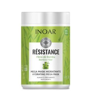 Inoar Resistance Fibra de Bambu Stiprinamoji plaukų kaukė, 1000g | inbeauty.lt
