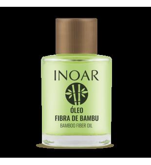 Inoar Resistance Fibra de Bambu Oil Stiprinantis ir žvilgesio suteikiantis aliejus, 7ml | inbeauty.lt