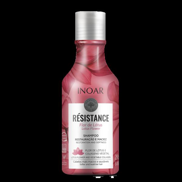 Resistance Flor de Lotus Shampoo Regeneruojantis, žvilgesio suteikiantis šampūnas, 250ml
