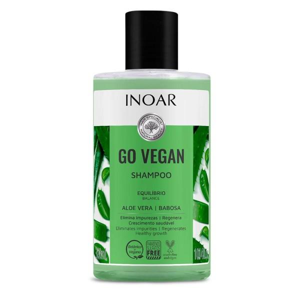 Go Vegan Balance Shampoo Balansuojantis šampūnas su alaviju, 300ml